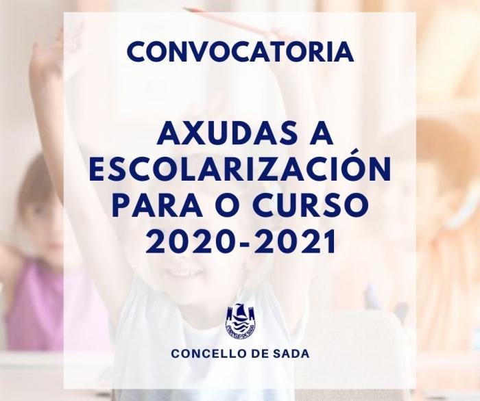 AXUDAS Á ESCOLARIZACIÓN PARA O CURSO 2020-2021