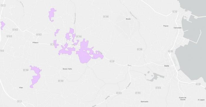 Sada advirte dos retrasos do Estado no plan expansión da banda ancha no municipio.