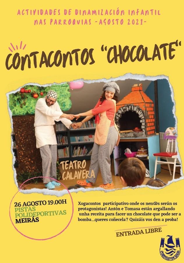 Contacontos Chocolate en Meirás