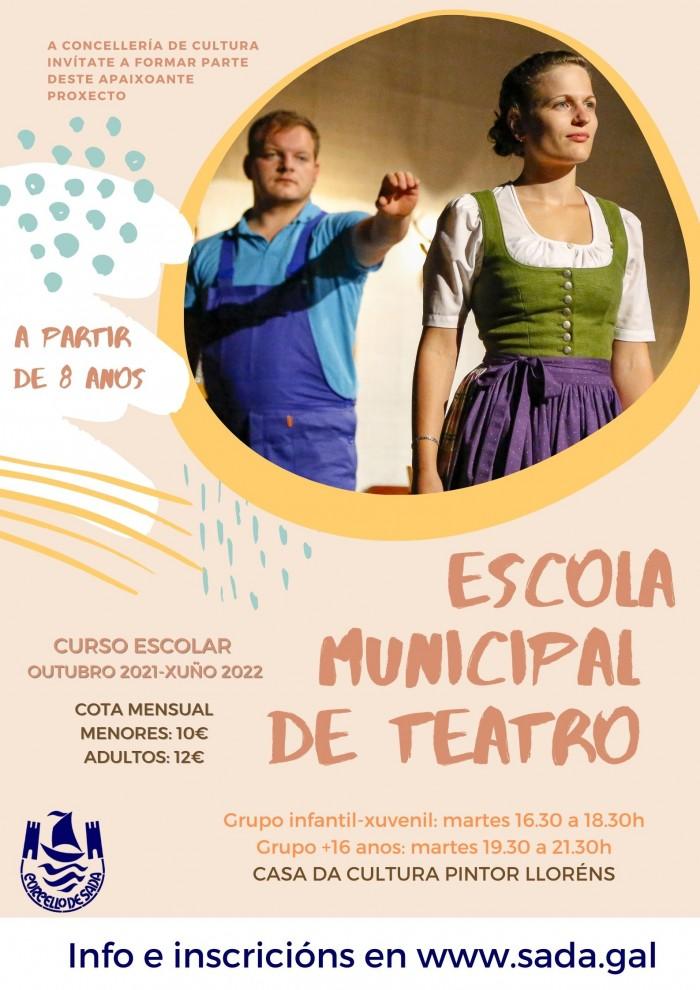 Escola Municipal de Teatro  Curso 2021-22