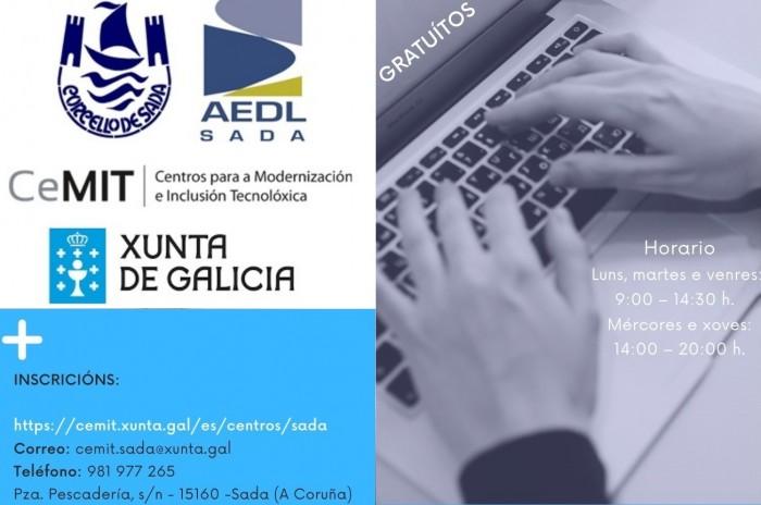 Cursos setembro e outubro aula CeMIT en Sada