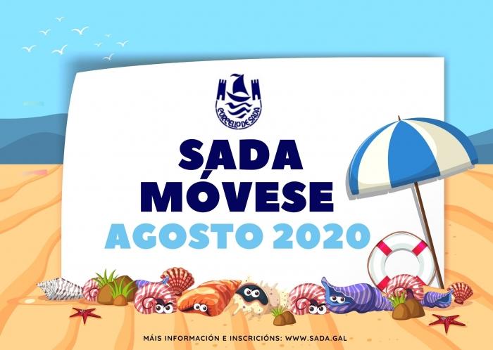 Sada Móvese, programa de actividades náuticas, de aventura e de lecer