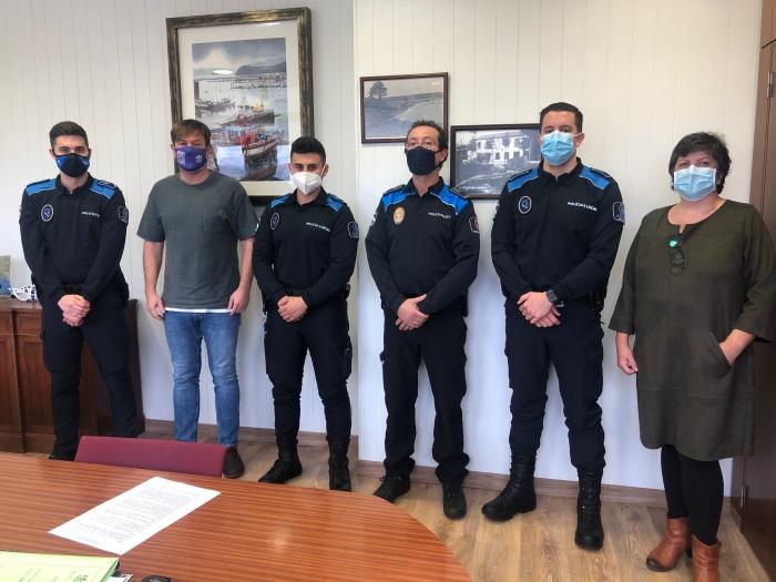 Tres novos axentes incorpóranse á Policía Municipal de Sada