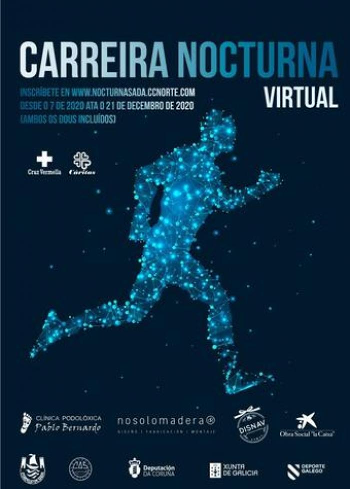 VI Carreira Nocturna Benéfica de Sada Edición Virtual